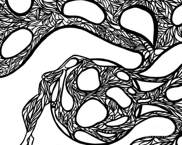 Wall Art - Drawing - Sphere by Jamie Lynn