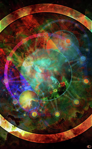 Digital Art - Sphere Of The Unknown by Kenneth Armand Johnson