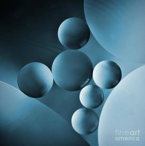 Photograph - Spheres by Elena Nosyreva