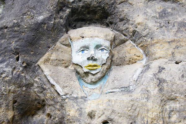 Wall Art - Photograph - Sphinx - Rock Sculpture by Michal Boubin