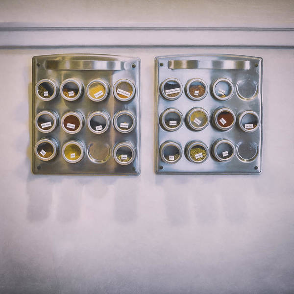 Stainless Steel Wall Art - Photograph - Spice by Scott Norris