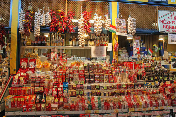 Photograph - Spice Stall by Tony Murtagh