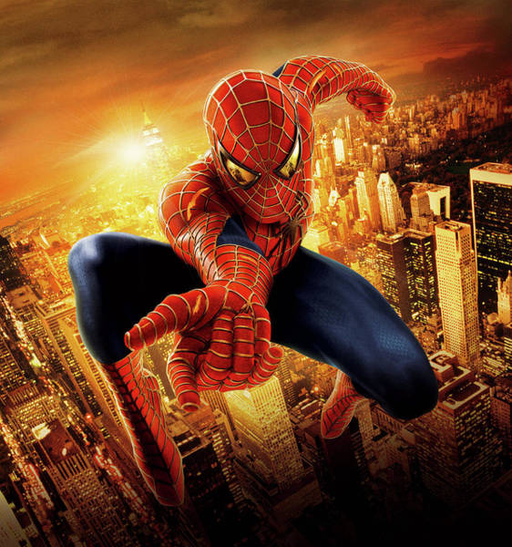 Spider-man 2 2004 Art Print