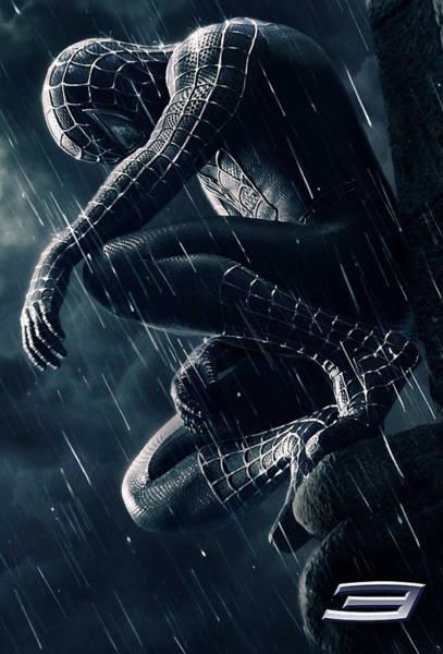 Tobey Digital Art - Spider-man 3 2007 by Geek N Rock