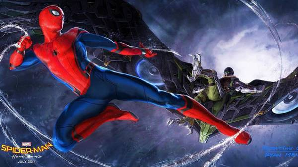 Wall Art - Digital Art - Spider Man by Geek N Rock