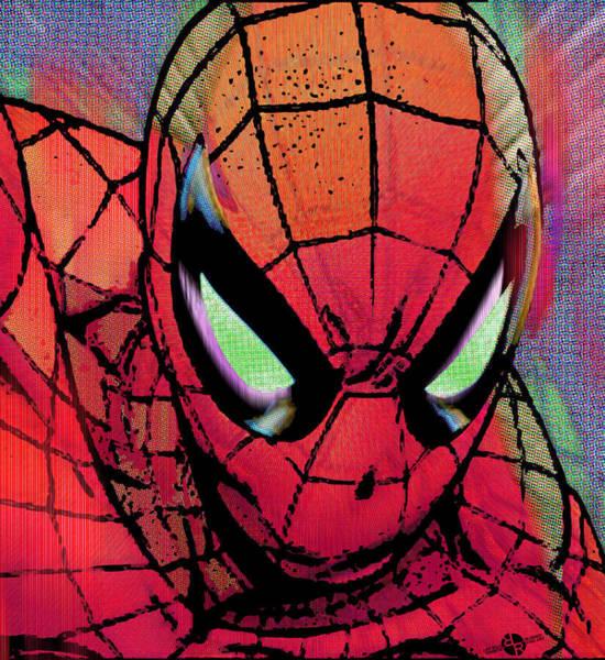 Painting - Spider-man Pop  by Tony Rubino