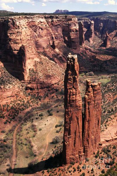 Spider Rock Photograph - Spider Rock 2 by Thomas R Fletcher