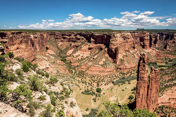 Spider Rock Photograph - Spider Rock - Canyon De Chelly by Debra Martz
