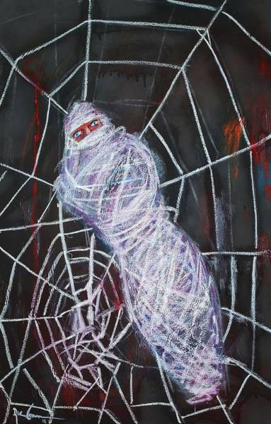 Painting - Spider Web by Ric Conn