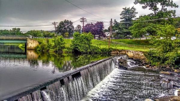 Photograph - Spillway At Grace Lord Park, Boonton Nj by Christopher Lotito
