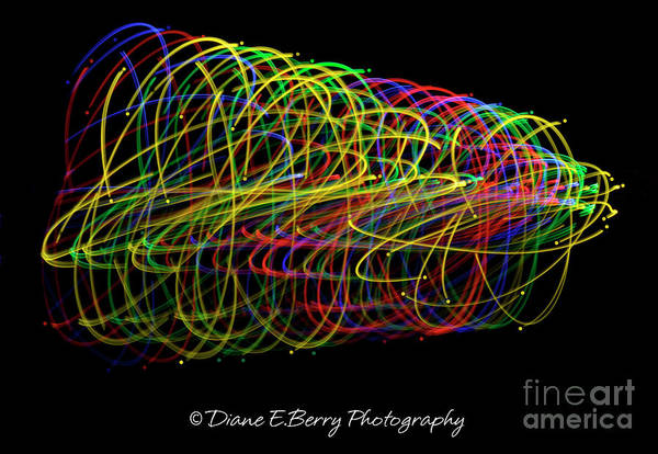 Wall Art - Photograph - Spin by Diane E Berry