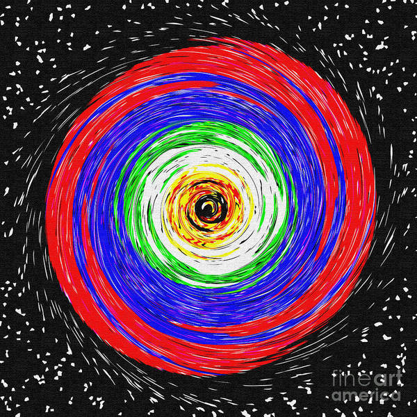 Spin Painting - Spin Me 'round by Methune Hively