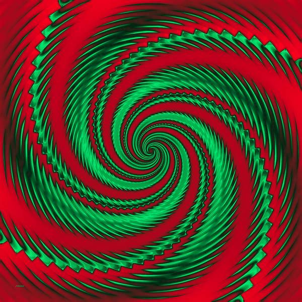 Digital Art - Spin Zone by John M Bailey
