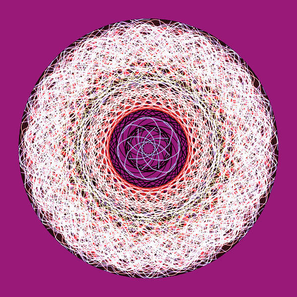 Digital Art - Spinning Threads by Barbara Jacobs