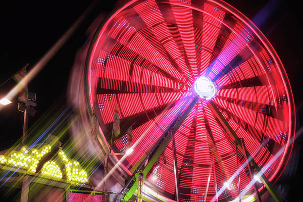 Wall Art - Photograph - Spinning Your Wheels by Marnie Patchett