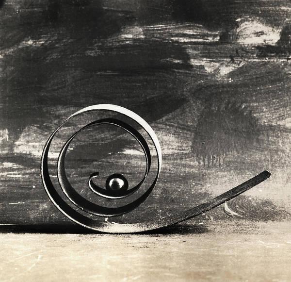Spiral And Ball Art Print