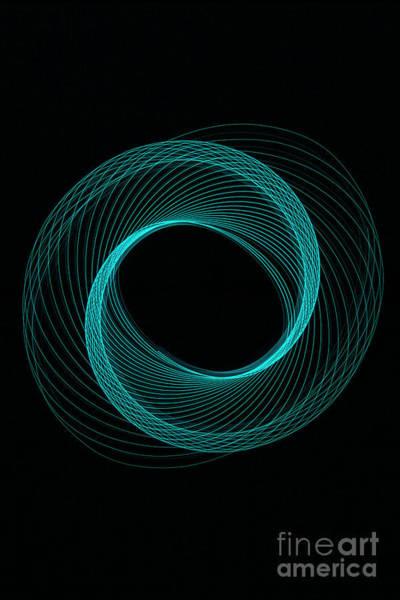 Photograph - Spiral Aqua  by Brian Roscorla