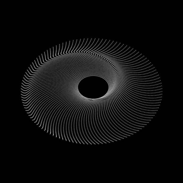 Digital Art - Spiral Bead Disc IIk by Robert Krawczyk