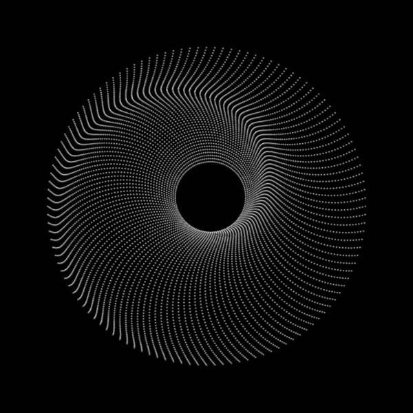 Digital Art - Spiral Bead Disc Ik by Robert Krawczyk