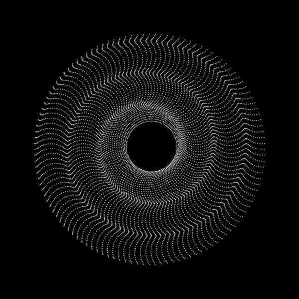 Digital Art - Spiral Bead Disc Vk by Robert Krawczyk