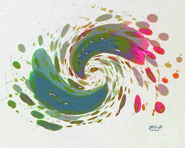 Digital Art - Spiral Globular by Rob Mandell