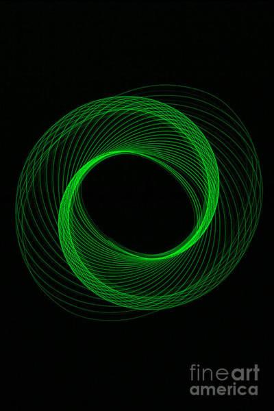 Photograph - Spiral Green by Brian Roscorla