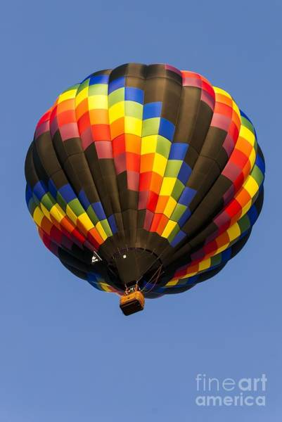 Photograph - Spiral Hot Air Ballooning by Anthony Sacco