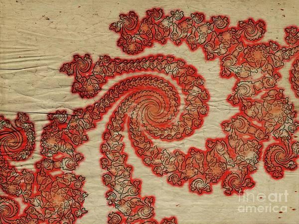Fibonacci Spiral Digital Art - Spiral Of Life by Raphael Terra