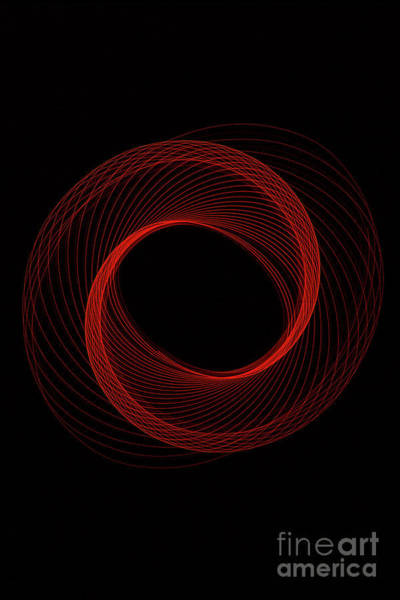 Photograph - Spiral Red by Brian Roscorla