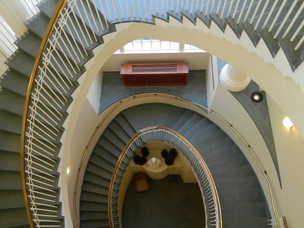 Wall Art - Photograph - Spiral Staircase by Arlane Crump