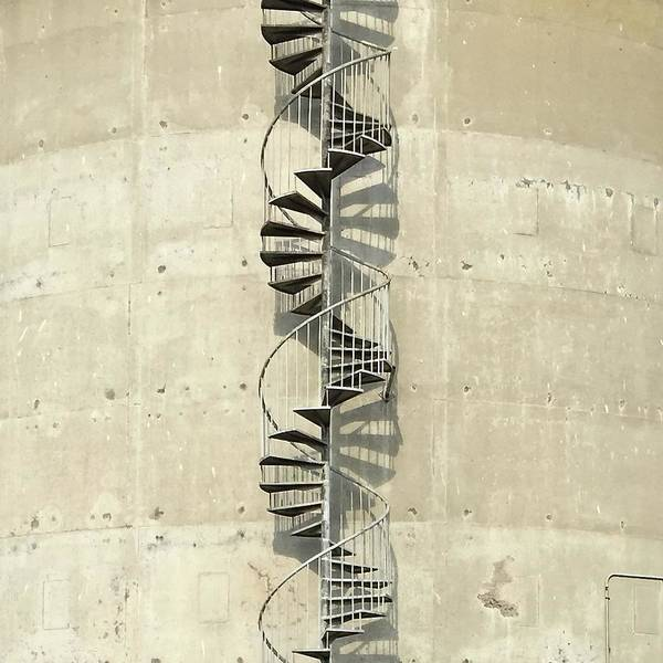 Wall Art - Photograph - Spiral Staircase by Julie Gebhardt