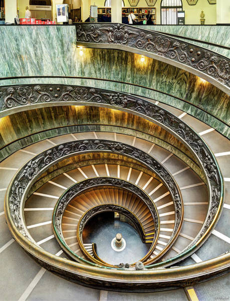 Photograph - Spiral Staircase Revisited by Weston Westmoreland