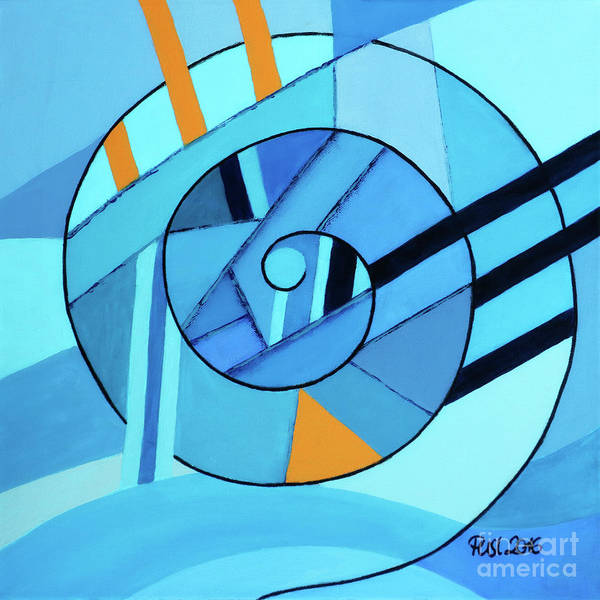 Painting - Spiral - Symbol Of Life by Jutta Maria Pusl