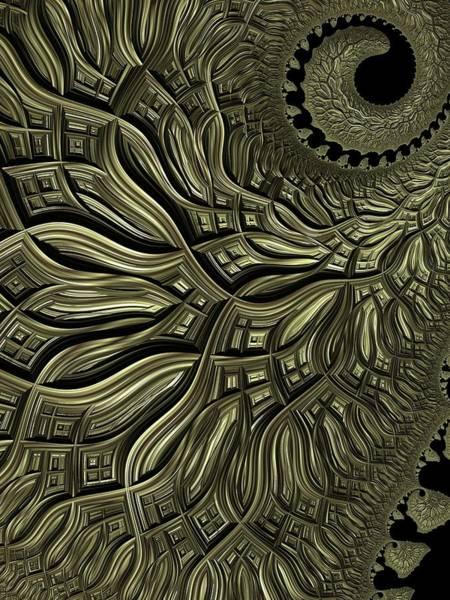 Wall Art - Digital Art - Spiral Weave by Amanda Moore