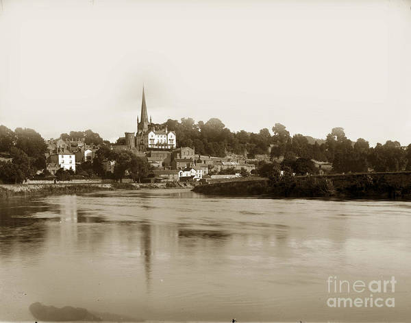 Photograph - Spire Of St Mary's Church Ross-on-wye On The River Wye England C by California Views Archives Mr Pat Hathaway Archives