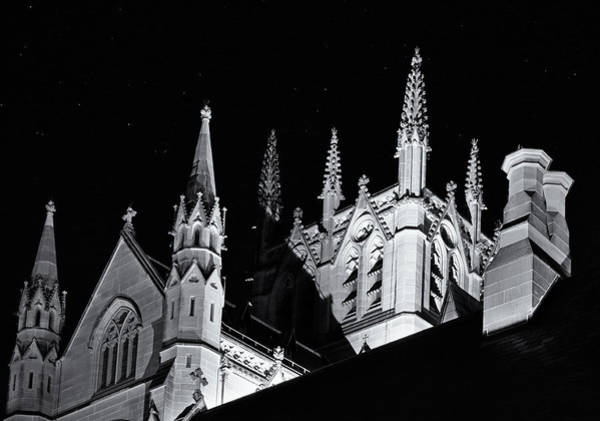 Photograph - Spires And Chimneys by Nicholas Blackwell