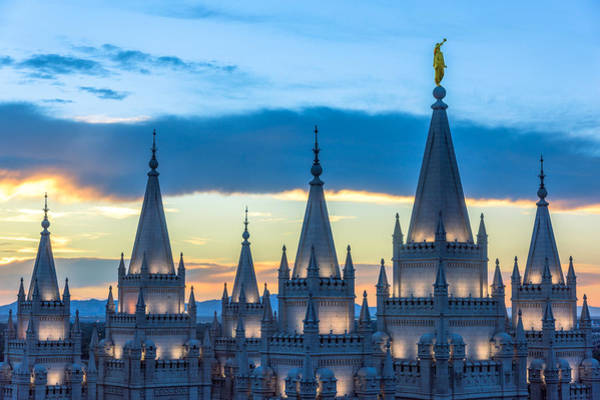 Photograph - Spires by Dustin  LeFevre