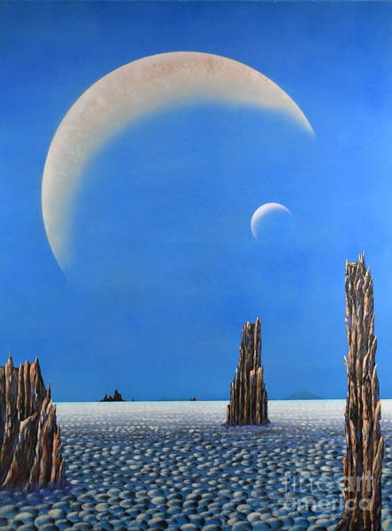 Painting - Spires Of Triton by Mary Scott