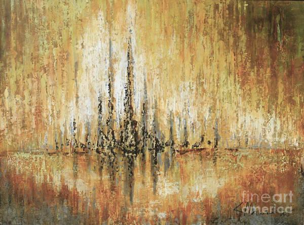 Painting - Spires Within by Kaata    Mrachek