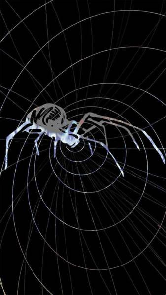 Painting - Spirit Animal . Spider by John Jr Gholson