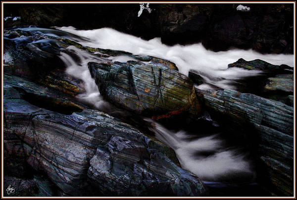 Photograph - Spirit Boulder In The Clouds by Wayne King