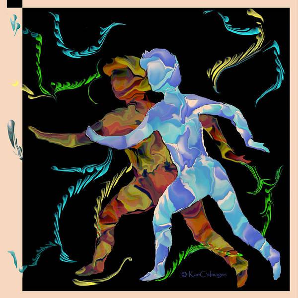 Digital Art - Spirit Chasers by Kae Cheatham