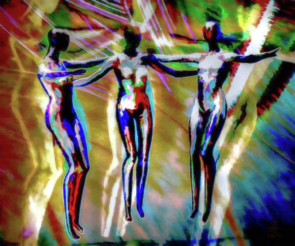 Digital Art - Spirit Dance by Pennie McCracken