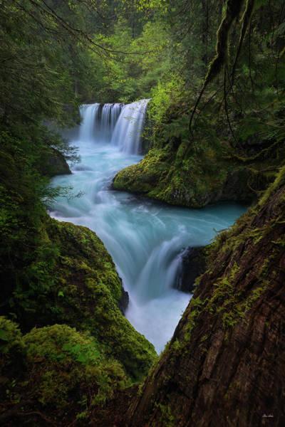 Photograph - Spirit Falls by Chris Steele