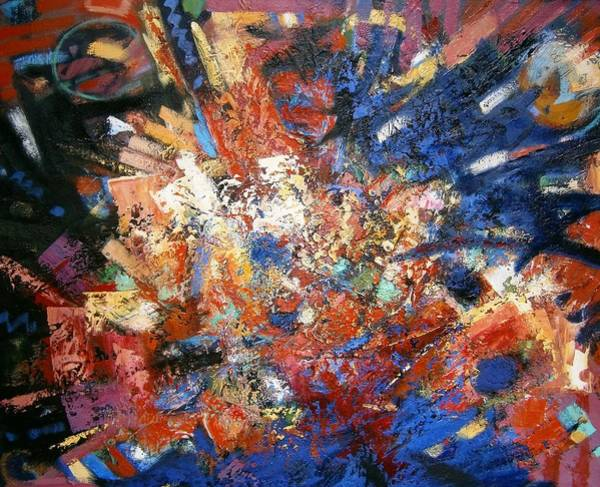 Non Representational Painting - Spirit by Gary Coleman