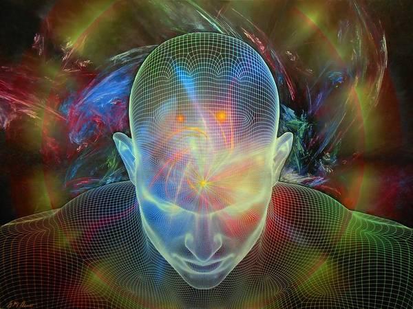 Spiritual Mixed Media - Spirit Guide by Michael Durst