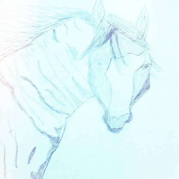 Wall Art - Painting - Spirit Horse  by Angelina Elliott