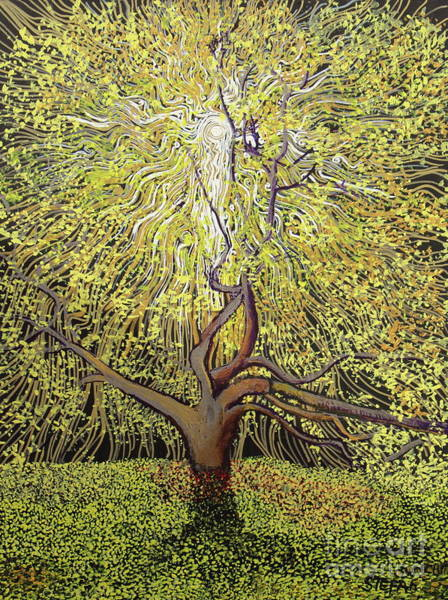 Painting - Spirit Of An Oak by Stefan Duncan