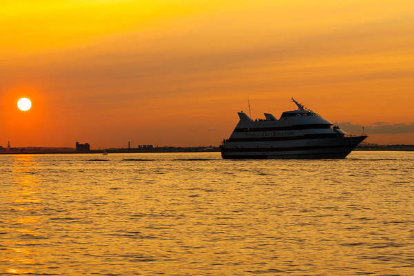 Photograph - Spirit Of Boston Sunset by Brian MacLean