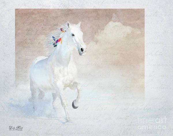 Andalusian Stallion Wall Art - Photograph - Spirit Of Empowerment by Linda Finstad